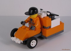 Garbage HalfHoverBuggy frontview