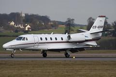 CS-DXN - Netjets Europe - Cessna 560XL Citation XLS - Luton - 090227 - Steven Gray - IMG_0089