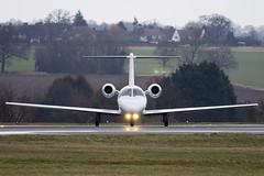 N120CS - Private - Cessna 525 Citation CJ1 - Luton - 090303 - Steven Gray - IMG_0328