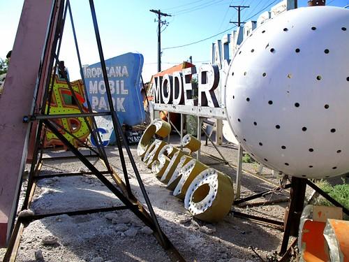 Neon Museum Sign Boneyard
