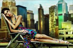 On the roof (Oleg Ti) Tags: nyc roof newyork model