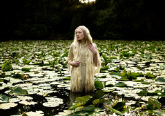 Wonderland : Lady of The Lake (Kirsty Mitchell) Tags: girl fairytale sundown katie surrey fantasy lilypads wonderland dreamcatcher preraphaelite ladyofthelake kirstymitchell masterpiecesofphotography elbievaneeden
