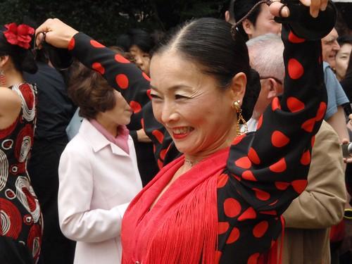 Sevillana japonesa