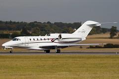 VP-CFZ - 750-0251 - Flying Group - Cessna 750 Citation X - Luton - 091015 - Steven Gray - IMG_2449