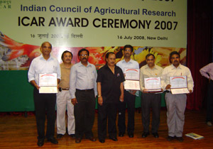 Indian Council of Agricultural Research awards dairy project