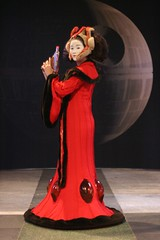 Queen Amidala and the Death Star (cindyli) Tags: starwars costume episode1 cindyli queenamidala adobemax