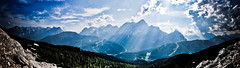 Panorama monte Civetta (davdenic  in the sky ) Tags: panorama parco montagne landscape nuvole cielo montagna belluno dolomiti dolomite civetta pelmo zoldo coldai pescul davdenic daviddenicol