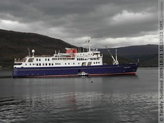 Hebridean Princess at Fort William