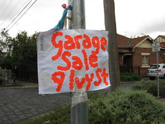 week two_garage sale text