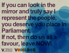 dg_3167 (vinspired_voicebox) Tags: people leave mirror place truly now say represent deserve favour parliamentif