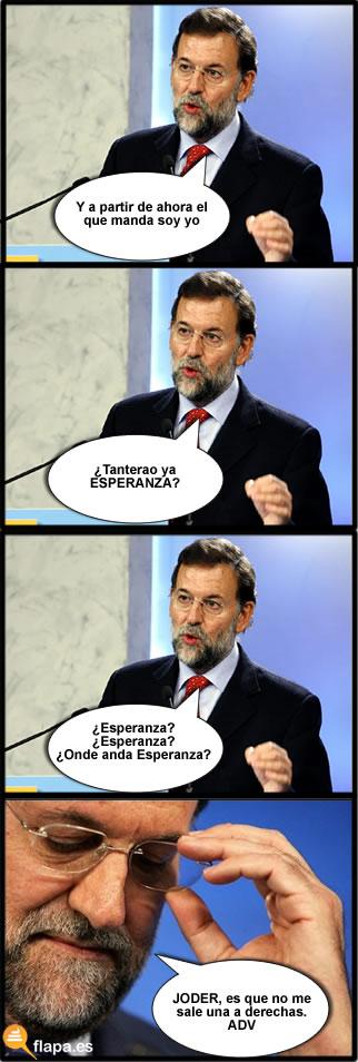 Rajoy pp politica pena corrupcion esperanza aguirre