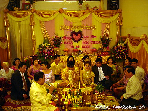 khmer wedding ritual 4
