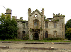 Cambusnethan House Front-shot (mark_____g) Tags: neglect fire decay 19thcentury damage priory lanarkshire ruinous wishaw cambusnethanhouse gillespiegraham