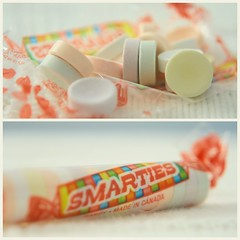 Smartie Pants (what_marty_sees) Tags: diptych candy sweet pastelcolors twoisbetterthanone nevernoticeduntilnow myyoungestcalls themsmartiepants thattheyremadeincanada