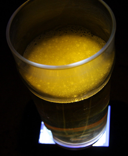 iPhone + Beer = Beer Lamp