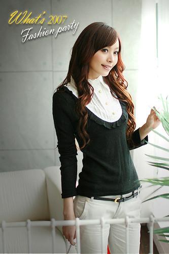 yoco wholesale t-shirt J7053black1-900-bust 86, length57