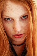 Gaze (Szmytke) Tags: beauty face hair scotland ginger eyes edinburgh redhead freckles helene accent
