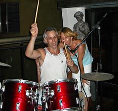 Tu+Lia Rock Jobim mar 2006 (TULIO FUZATO - THE AMPUTEE DRUMMER) Tags: tulio fuzato