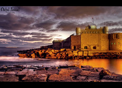 Qaitbay Citadel (Michel Assaad) Tags: alexandria dawn citadel egypt hdr the in qaitbay superaplus aplusphoto flickrestrellas