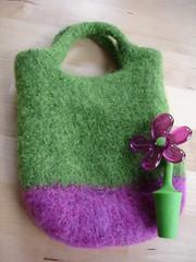 Finished Felted Bag