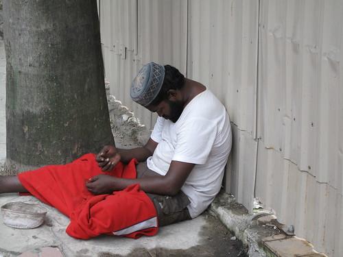 IMG_5285 A beggar , Kuala Lumpur
