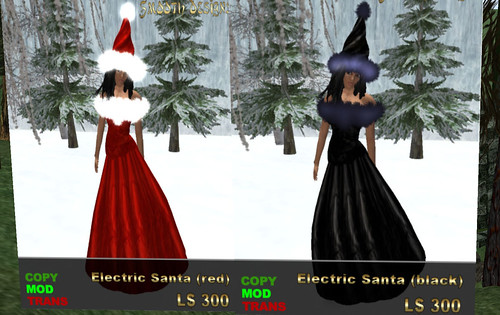 Red or Dead hunt Smooth Designs female santa outfits