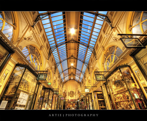 The Royal Arcade, Melbourne :: HDR