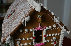 gingerbread stone house 2