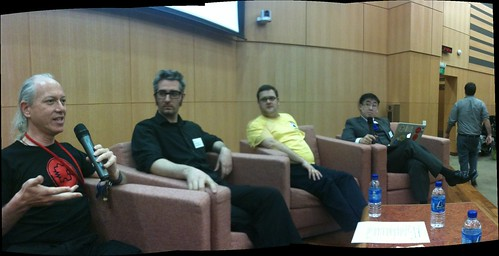 Hackerspace Panel at NSC1
