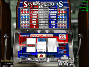 Sevens and Stripes slot game online review