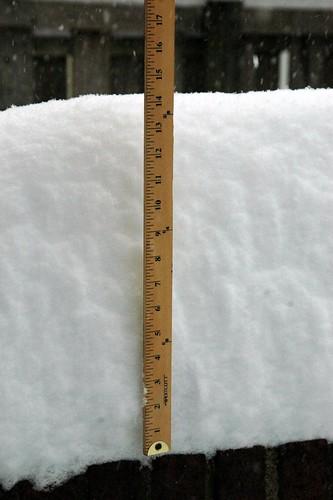 Columbia Heights 4pm 12_19 Snowfall