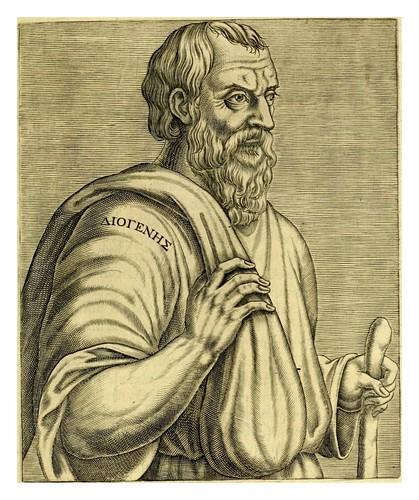 007-Diogenes-Les vrais pourtraits et vies des hommes illustres grecz, latins et payens 1584-André Thevet