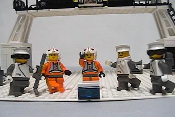 Lego Hoth Rebel Hanger