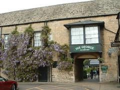 George Hotel Stamford wisteria