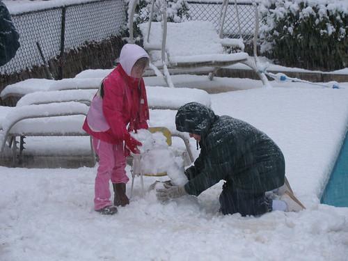 nanny snowman