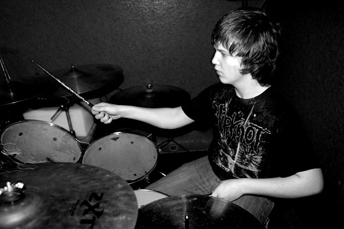 Blood Red Visions Practice Drummer 1