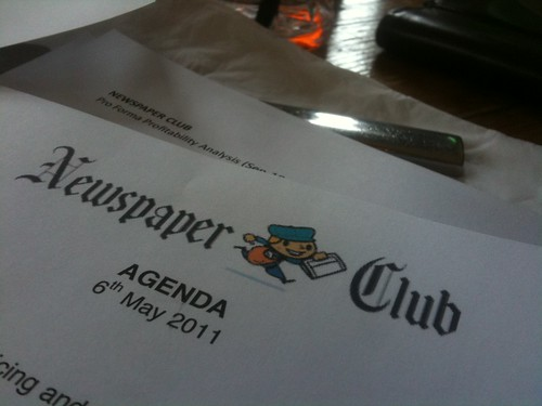 Newspaper Club Away Day