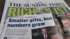Sunday Times Rich List 2011