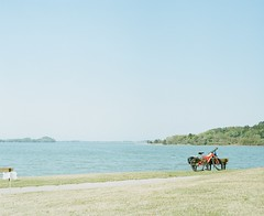 country roads #1 (Takafumi Goto) Tags: film pentax kodak country portra 67ii portra400