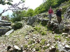 Redescente aux bergeries de Purtetu par un sentier traditionnel non porté sur IGN