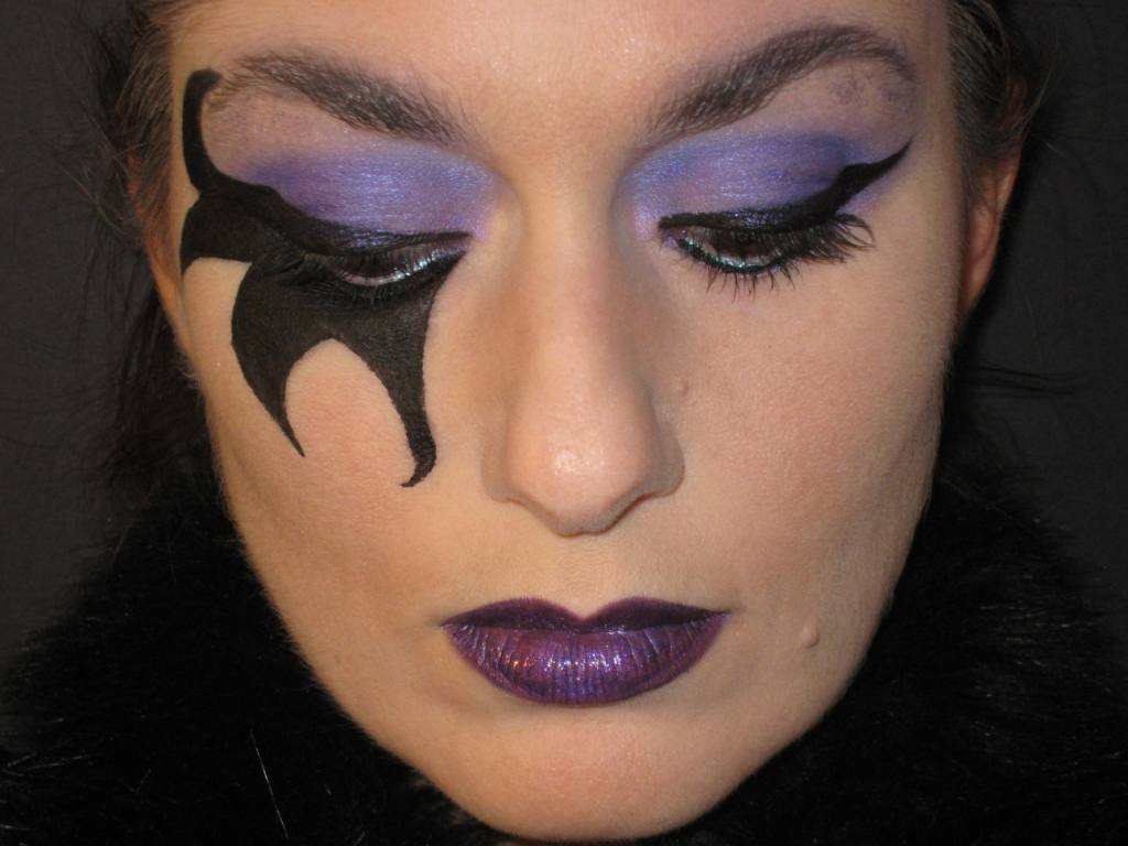 Trucco Halloween Catwoman.The World S Best Photos Of Aquacolor And Makeup Flickr Hive Mind