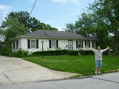 Our old house in Warrensburg
