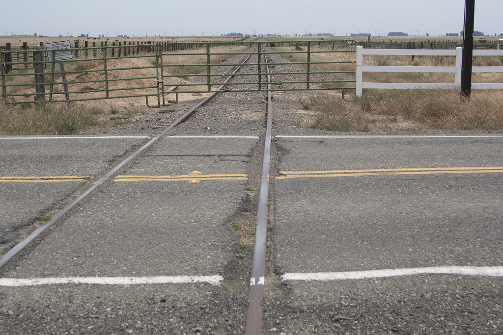 Sacramento Northern Railroad Tracks