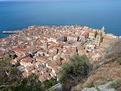 Cefalu, Városkép a Szikláról (ossian71) Tags: olaszország italy italia szicília sicily cefalu műemlék sightseeing városkép city