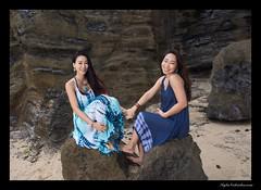 Jamie and Grace (madmarv00) Tags: d600 grace halonabeachpark jamie makapuu nikon hawaii kylenishiokacom oahu