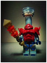 Mekaneck (LegoKlyph) Tags: lego custom mekaneck heman skeletor cartoon saturday morning motu masters universe bionic hero warrior