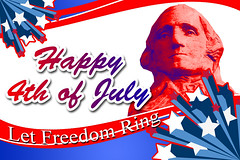 pse-4th-of-july (georgepeirson) Tags: adobe photoshop elements 4th july patriotic flag washington president presidents day