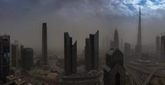 Desert Storm (Jerry Fryer) Tags: dubai emirates sheikzayeedroad burjkhalifa sandstorm clouds sky blue cityscape 5dsr ef1635mmf28liii