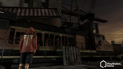 PS Home - inFamous Abandoned Docks space, 4