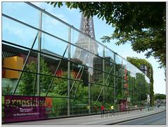 Entre muse du quai Branly (Geoffroy65) Tags: city paris museum geotagged muse casio exz300